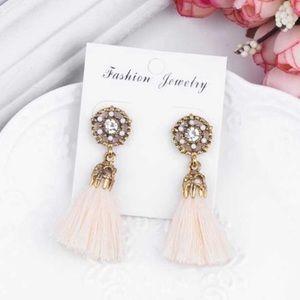 FOR @rriley_1856 Jeweled Tassel Earrings
